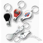 Custom key chains / bottle openers / nail clippers