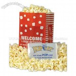 Custom printed bag of microwave popcorn