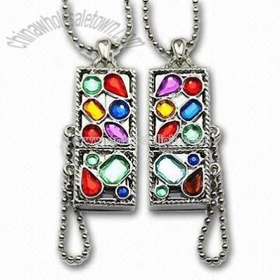 Custome Necklaces USB Flash Disk