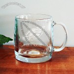 Customized 13oz Glass Coffee Mug