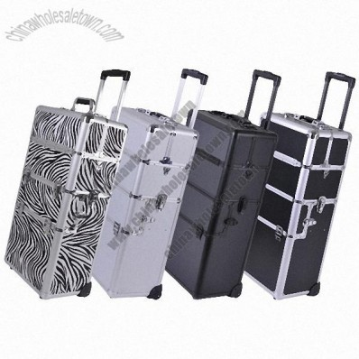 Customized Aluminum Trolley Makeup Cases