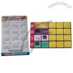Customized Calendar Fridge Magnet