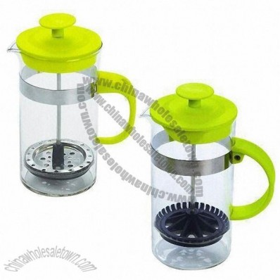 Customized Coffee And Tea Maker/Tea Plunger