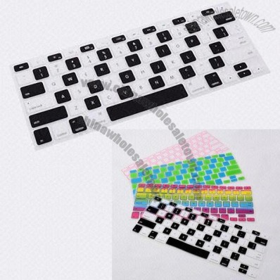Customized Colours Silicone Laptop Keyboard Protector