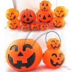 Customized Halloween Pumpkin Buckets