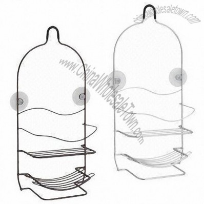Customized Iron Shower Caddy with Suction Cup