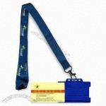 Customized Lanyard with Rigid Badge Holder
