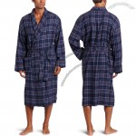 Customized Men's Flannel Robe