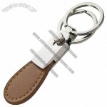 Customized Metal Leather Key Ring