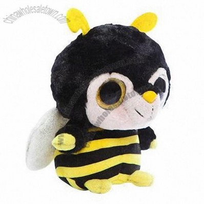 Customized Plush Big Eyed Animal Toys