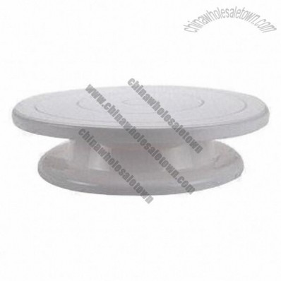 Customized Ultra Rotating Cake Stand