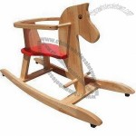 Customized Wooden Rocking Horse Toy