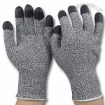 Cut Resistant Nitrile Dipped Finger/General Purpose Gloves