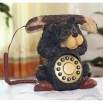 Cute Bear Lifting Shaped Corded Resin Telephones