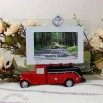 Cute Car Glass Photo Frame