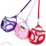 Cute Dog Harness with Leash