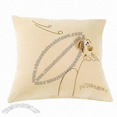 Cute Doggie Style Hold Pillow Car Throw Pillow Cushion Khak