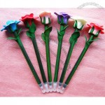 Cute Handmade Fimo Rose Roller Ball Pen Valentines Gifts