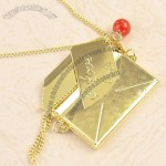 Cute Mini Envelope Designed Necklace