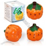 Cute Pumpkin Kitchen Timer, 60-Minute Mechanical Timer