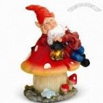 Cute Santa Clause LED Garden Solar Light