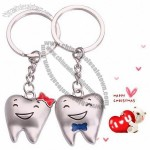 Cute Smile Tooth Couple Keychain for Wedding