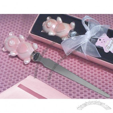 Cute and Cuddly Teddy Bear Letter Opener