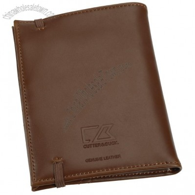 Cutter & Buck Bainbridge Leather Passport Wallet