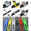 Cycling Bike Bicycle Silicone Elastic Rubber Strap Bandage Tie Flashlight Holder
