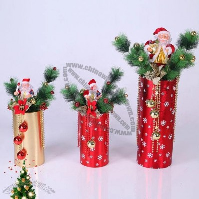 Cylindrical Bonsai Christmas Tree