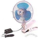 DC 12V 6 inch Car Fan
