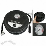 DC 12V Car Charger Power Adapter Two Color Tire Pump Inflator w Pressure Gauge