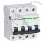 DC MCB for PV Industry, 63A/1,000V Rated Power Supply, with IP66 Enclosure, 1-4P Available