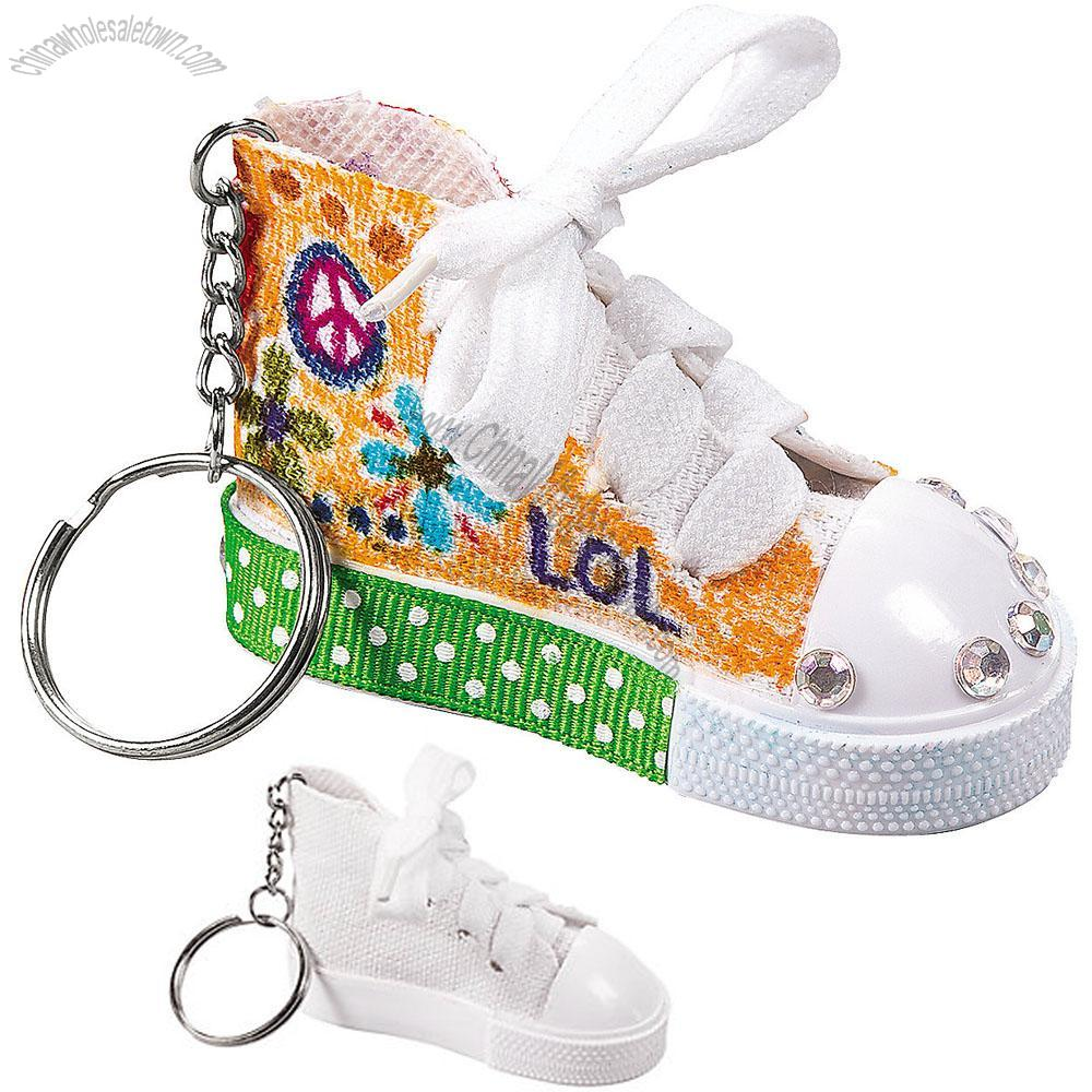 DIY Shoe Key Chains, Wholesale China DIY Shoe Key Chains
