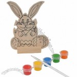 DIY Wooden Animal Play Painting Toy
