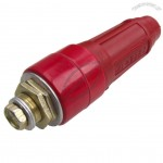 DKJ-16 Replacement 100-160A Welding Cable Plug Connector Instant Joint Red