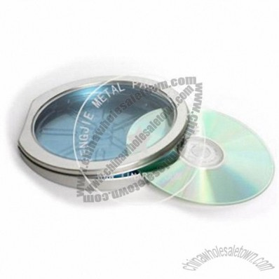 DVD CD Tin Case with Window