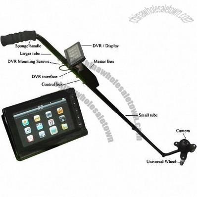 DVR Vehicle Inspection Mirror
