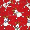 Dancing Deer Wrapping Paper