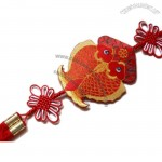 Dangling Fish Shape Wall Door Ornaments Chinese Knot