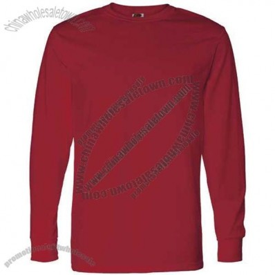Dark Fruit of the Loom Best 50/50 Long Sleeve T-shirt