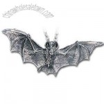 Darkling Bat - Alchemy Gothic Pendant Necklace
