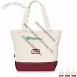 Davenport Cotton Zippered Tote Bag