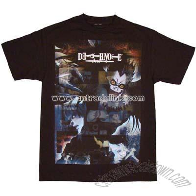 Shirt on Death Note T Shirt  Wholesale China Death Note T Shirt Customized