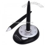 Decision maker desk stand and pen