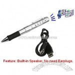 Dedicated Hi-Fidelity Voice Recorder Pen with Built-in Speaker