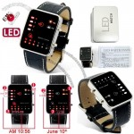 Deep Six-Inspired Binary Multicolor LED Watch