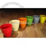 Degradable Vegetal Fibre Flower Pot