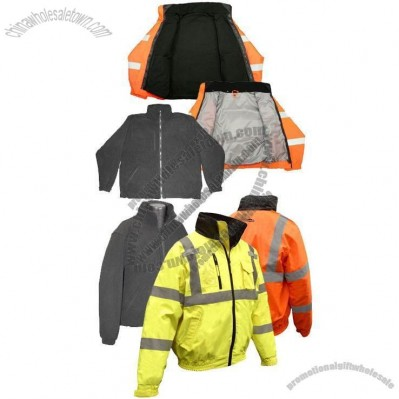 Deluxe 3-in-1 High Visibility Bomber Jacket
