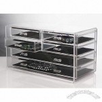 Deluxe 6 Drawer Acrylic Jewelry Chest